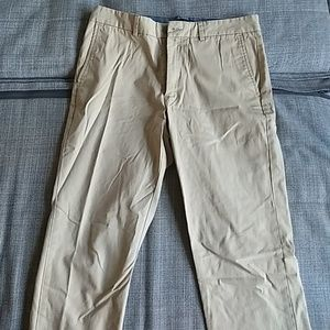 Banana Republic Pants - Banana republic 33x30 Aiden chino khaki colored